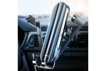 Baseus Penguin Metal Gravity Linkage Automatic Lock Air Vent Car Phone Holder