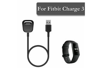 Replacement USB Charger Charging Cable For Fitbit Charge 3 Smart Watch