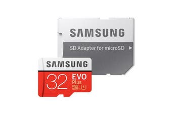 Samsung MicroSD HC 32GB Evo Plus 95MB/s Class 10 Mobile Phone Tablet Memory Card