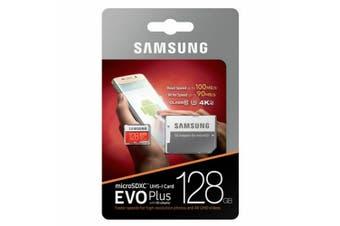 Samsung Micro SD 128GB EVO Plus /w Adapter UHS-1 SDR104, Class 10, Grade 1 Memory