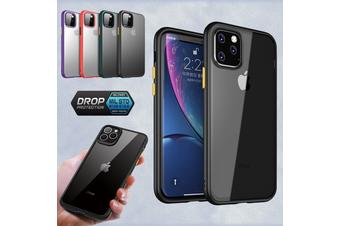 Shockproof Slim Matte Bumper Case Hard Cover for iPhone 11 Pro [Clear]