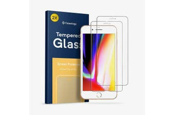 Caseology Scratch Resistant Screen Protector [2-pack] for iPhone 7 plus