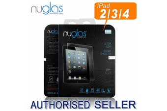 NUGLAS iPad 4 Tempered Glass Screen Protection