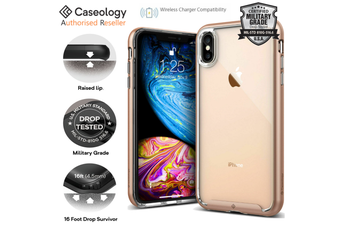 Caseology Skyfall Series Protective Clear Slim Cover for iPhone XS