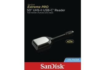 SANDISK USB C Reader Extreme Pro Memory Card Type-C Reader
