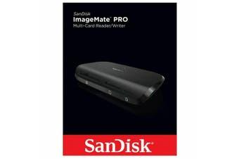 SANDISK ImageMate Pro Card Reader USB 3.0 Multi Memory CF SD Card Reader [USB C]