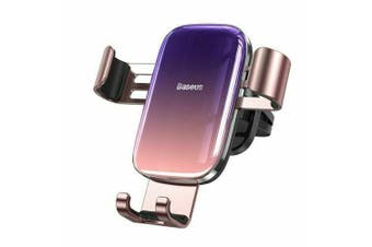 Baseus Universal Gravity Car Phone Holder Air Vent Mount [Glaze Pink]