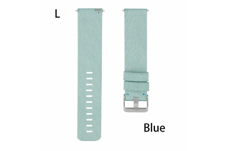 Fitbit Versa Woven Fabric Replacement Wrist Band [Large, Teal]
