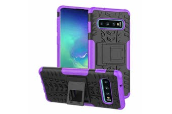 Heavy Duty Shockproof Rugged Case Cover for Samsung Galaxy S8 [Purple]