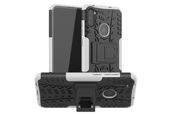 Heavy Duty Shockproof Rugged Case Cover for Samsung Galaxy S9 [White]