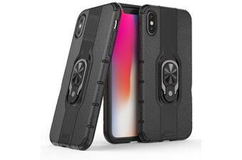 Heavy Duty Shockproof Case Cover For iPhone XS [Black]