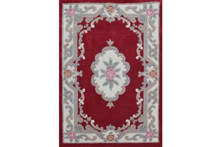 Smith Hand Carved Wool Rug