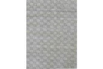 Trendy Cotton Rug - Diamond - Black/White