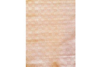 Trendy Cotton Rug - Diamond - Orange/White - 110x160cm