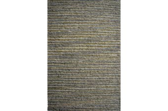 Festival Handmade Wool Rug - Beige Multi