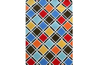 Designer Handmade Wool Rug - Texture2017 - Multi - 190x280cm