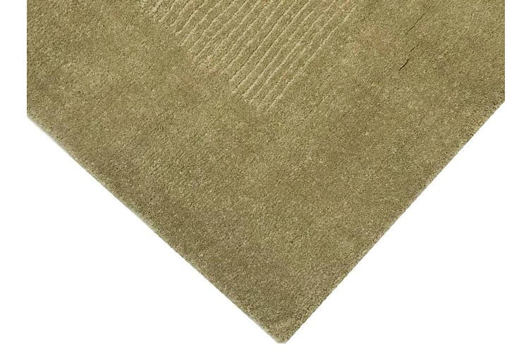 Contemporary Handmade Modern Wool Rug - Elite 1041 - Taupe - 160x230