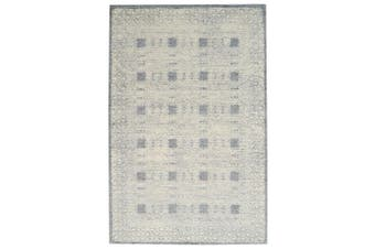 Designer Handmade Wool Rug - Newcastle 6200 - Grey - 190x280cm