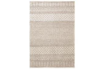 Designer Handmade Wool Rug - Newcastle 6203 - Natural