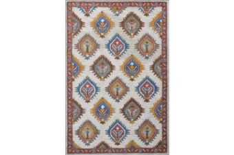 European Style Handmade Astre Wool Rug - 6217 - Beige