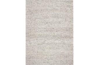Berlin Flatwoven Modern Wool Rug - 507 - Natural - 190x280cm