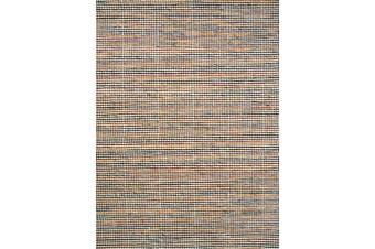 Berlin Flatwoven Modern Wool Rug - 507 - Natural/Red - 160x230cm