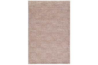 Modern Handwoven Wool Rug - Blocks 6219 - Sand