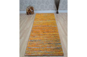 Handwoven Trendy Silk Rug - Chocho 1026 - Rust - 80x150cm