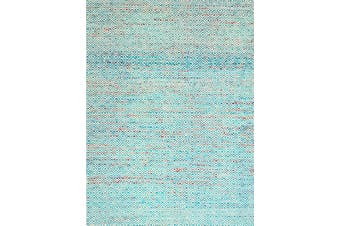 Handwoven Tribal Mira Rug - 1089 - Blue - 110X160cm