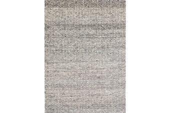 Handwoven Tribal Mira Rug - 1089 - Ash Grey - 190x280cm
