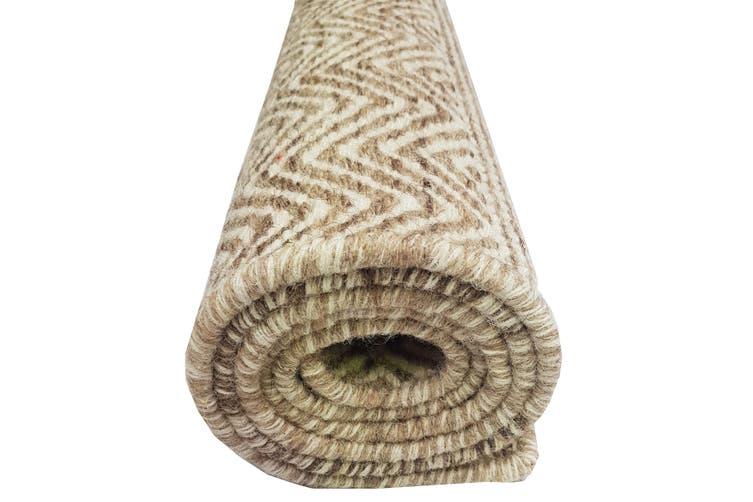 Handwoven Tribal Mira Rug - 1099 - Natural-Beige - 110X160cm