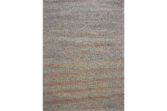 Sua - Flatwoven Modern Wool Rug - 506 - Orange/Charcoal - 160x230
