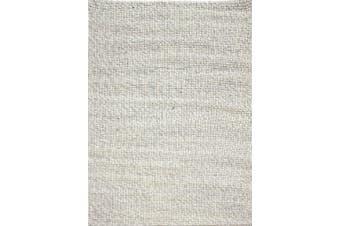 Sua - Flatwoven Modern Wool Rug - 506 - Silver/Gold - 190x280