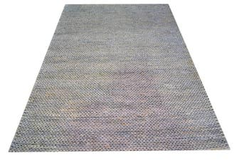 Braided Handwoven Jute Rug - 1668 - Silver Grey - 190x280cm