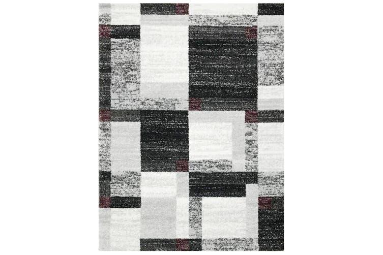 1204 Grey White 120x170cm