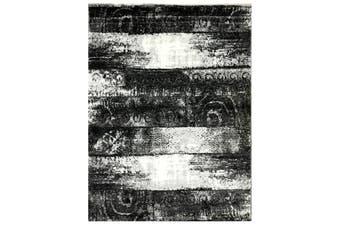 Modern Quality Luminous Rug-1254-Antracite/Grey