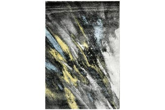 Modern Quality Luminous Rug-650-Dk Grey/Antracite