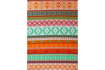 Vibrant & Reversible Outdoor/Indoor Mats - Chatai-2640-Orange Multi - 180x270