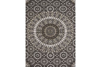 Vibrant & Reversible Outdoor/Indoor Mats - Chatai 2773 - Brown/Taupe - 180x270