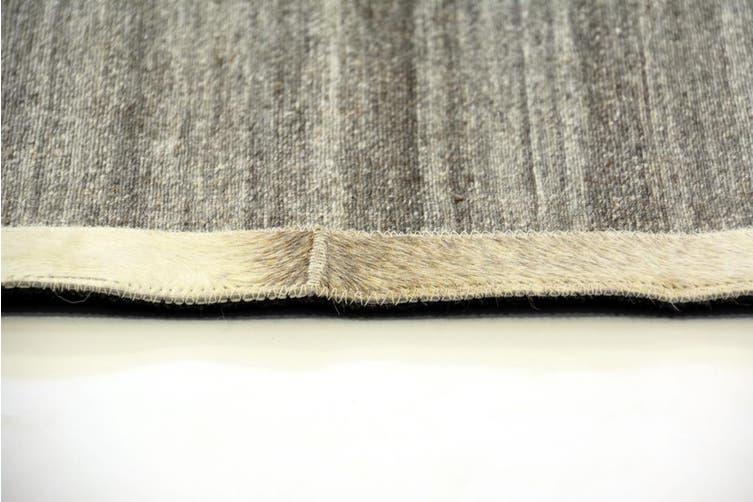 Fine Handwoven Rug - Signature - Brown/Cream - 160x230cm