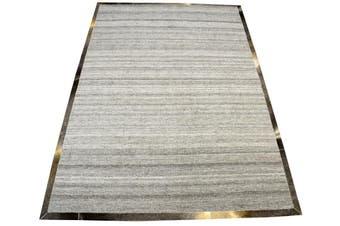 Fine Handwoven Rug - Signature - Silver/Grey - 160x230cm