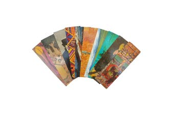 10pce 18cm Book Markers Page Separator Paper Bulk Pack Cool Themes