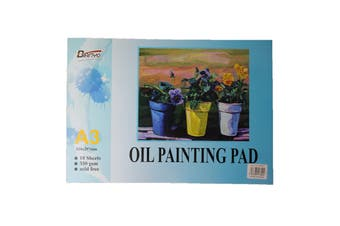 Quality A3 Oil Painting Pad 350GSM 10 Sheets Acid Free