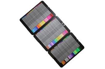 72 Colour Fine Liner Marker Pen Drawing Set in Metal Tin Premium Excellent Range