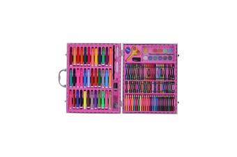 Magical 150pce Kids Art and Craft Mixed Media Kit in Case Crayons, Markers, Watercolour & MORE!