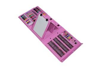 MEGA 176pce Kids Mixed Media Kit Case with Inbuilt Easel Kids Art and Craft