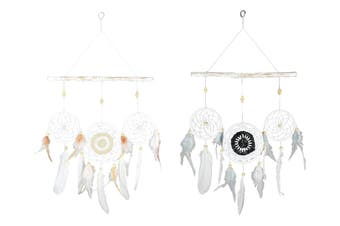 BOHO/MANDALA DREAM CATCHER 2 ASSTD [Colour: Both] [Type: Set of 2]