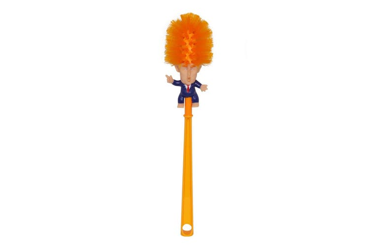 1pce 38cm Donald Trump Toilet Brush Novelty Silly Gift Matt Blatt The jokes write themselves, but it is very much reality that someone has made a donald trump toilet brush available to buy. 1pce 38cm donald trump toilet brush novelty silly gift