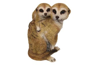 New 1pce 22cm Meerkat Cute Family Resin Orniment