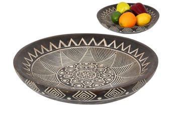 New 1pce 30cm Boho Moroccan Tribal Plate Display Food Bowl